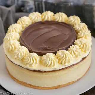 Boston Cream Pie Cheesecake Recipe