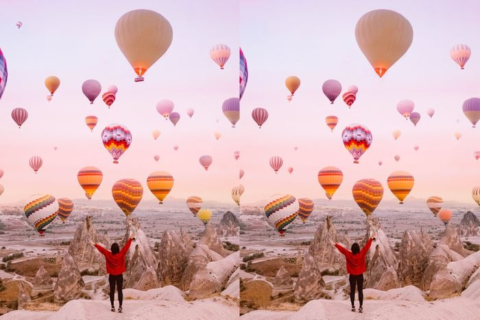 Spot the difference: Hot Air Balloon Festival