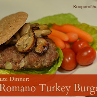 Romano Turkey Burgers