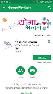 Yoga Aur Bhajan - náhled