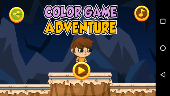 Game Color Adventure - náhled