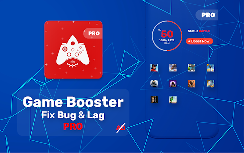 Game Booster PRO MOD APK 3.1-r [Paid] Bug Fix & Lag Fix 1