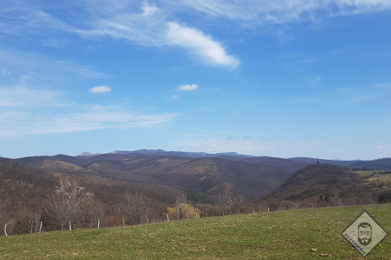KÉP / Egyik következő túrám helyszíne, héttérben a Bükk hegység
