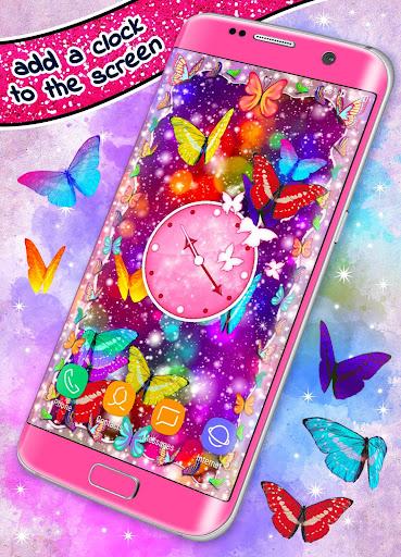 HD Neon Butterfly Live Wallpaper ud83eudd8b 4K Wallpapers screenshots 1