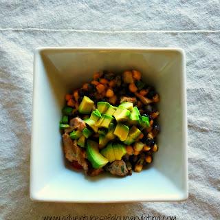 Easy Tex-Mex Chicken Salad