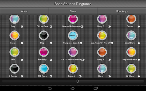 Beep Sounds Ringtones- screenshot thumbnail
