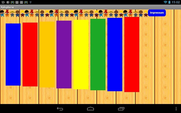 android Xylophone for Children Screenshot 1
