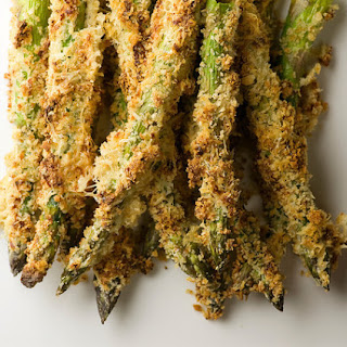 Honey Breadcrumb Asparagus.
