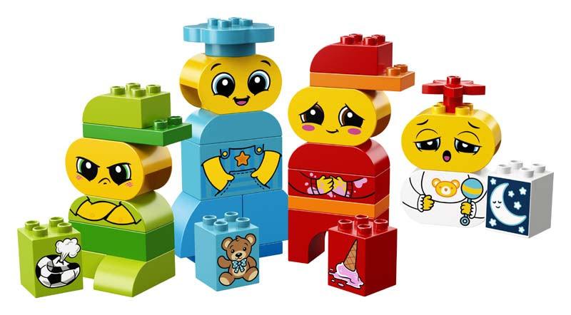 Contenido de Lego® 10861 Mis Primeras Emociones