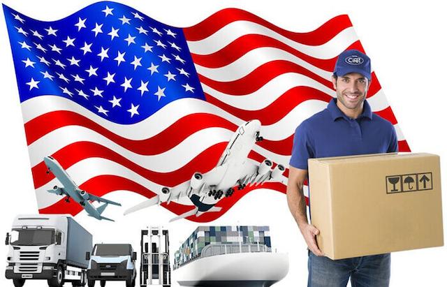 Cước gửi hàng đi Mỹ phụ thuộc vào cách thức gửi