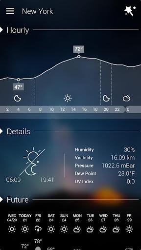 GO Weather Forecast & Widgets screenshot 4