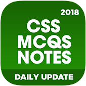 CSS MCQs Notes: Exam Preparation 2018