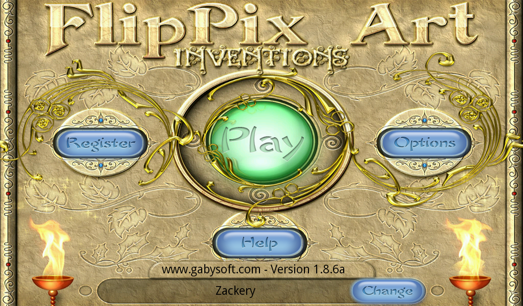 FlipPix Art - Inventions- screenshot