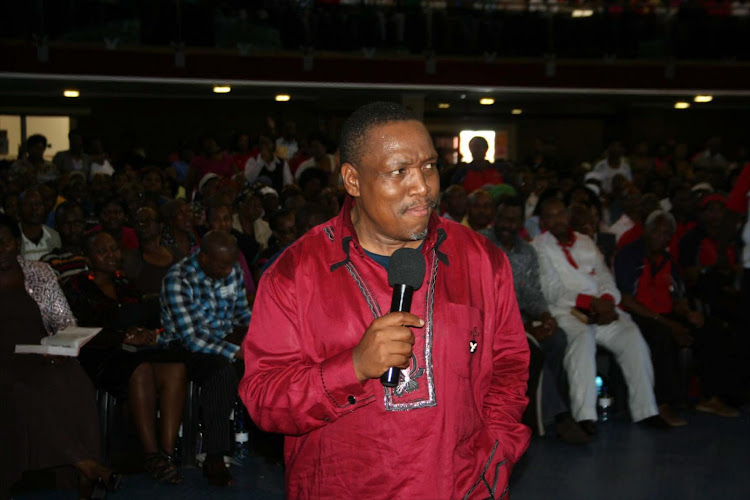 Bishop Stephen Zondo of the Rivers of Living Waters Ministries.