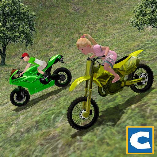 Mountain Kids MotorBike Riding (game)