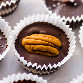 Homemade Protein Peanut Butter Cups.