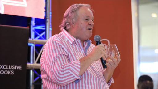 Jacques Pauw at the book launch of the President's Keepers. Picture: TimesLIVE
