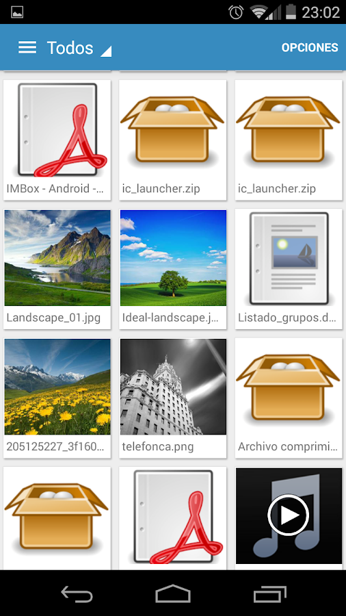 IMBox.me - Work messaging: captura de pantalla