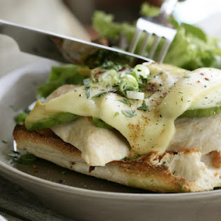 Grilled Chicken and Avocado Melt.