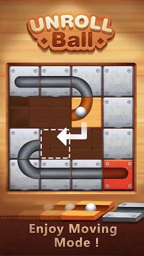 Unblock The Ball - Roll & Drag Block Puzzle Games screenshot 5