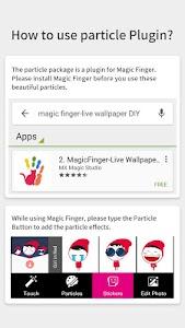 Red Girls-Magic Finger Plugin screenshot 2