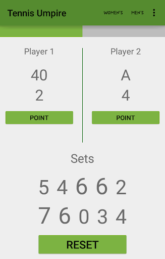 Tennis Umpire - tennis scorer