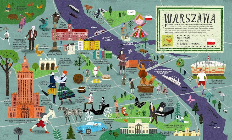 Atlas miast - Warszawa