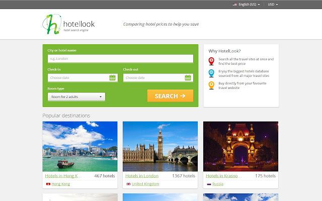 Hotellook.com - compare hotel prices