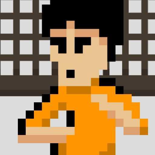 鬼ムズファミコン風ジャンプアクション「カンフータワー」 動作 App LOGO-硬是要APP