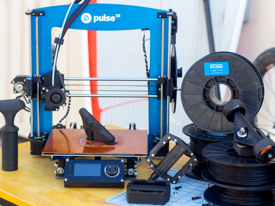 The Pulse XE does an excellent job at printing NylonX with its specifically chosen components