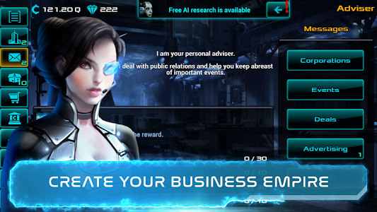 Business Clicker 1.0.69 (Mod Money/crystals)