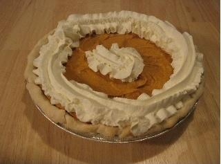 Creamy Custard Pumpkin Pie Recipe