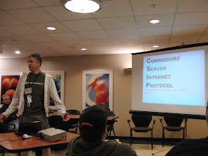 Photo: Goog, presenting Commodoreserver & CSIP primer