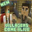 Villagers Come Alive Mod for MCPE APK