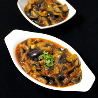 Brinjal Curry Recipe For Rice | Brinjal Gravy | Eggplant Curry.