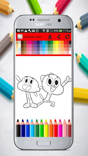 Cartoons Coloring Pages 1.01.0 screenshots 8