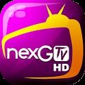 nexGTv HD:Mobile TV, Live TV icon