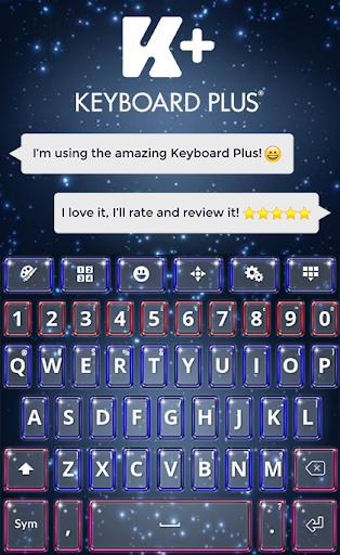 New Year Keyboard Theme