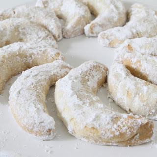 Patricia's Viennese Crescents.
