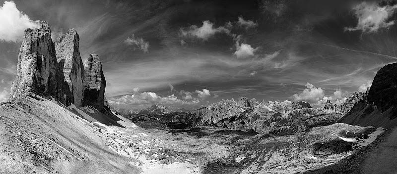 La classifica del concorso fotografico paesaggi in bianco for Disegni bianco e nero paesaggi