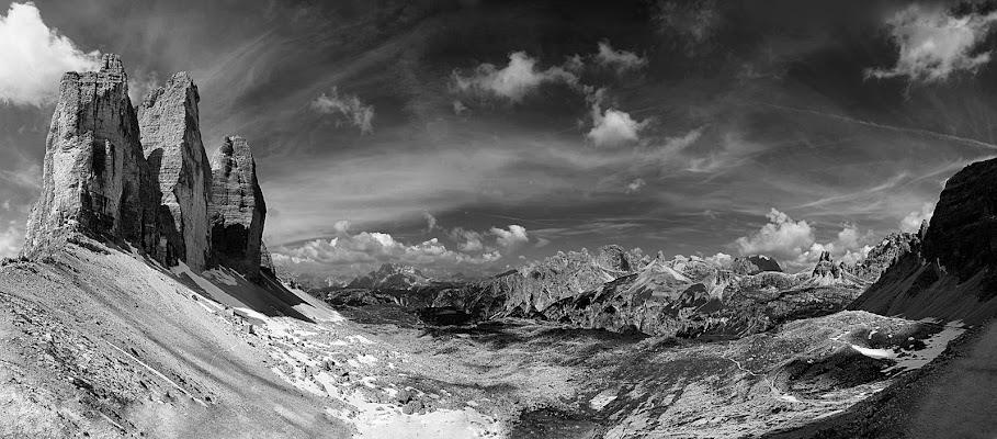 Skyline di cime di Amadeus