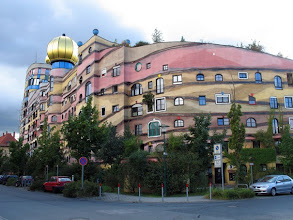 Photo: Forest Spiral - Hundertwasser Building (Darmstadt, Germany)