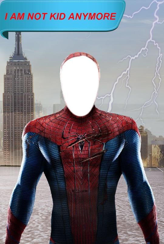 Super Hero Suit Photo Eidter- screenshot