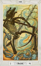 Photo: .XIII. Death - A Morte Thoth Tarot Crowley
