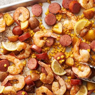 Sheet-Pan Shrimp Boil.