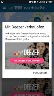 Deezer nextbike- screenshot thumbnail