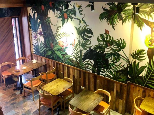 右手餐廳,新泰式定食 手工綠咖哩椰汁雞 泰式椒麻雞平方 泰式奶茶 2019最愛的泰式餐廳