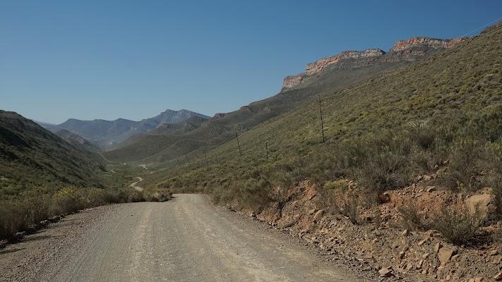 Abfahrt vom Blinkberg Pass