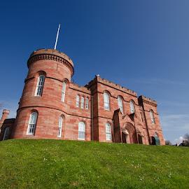 Inverness Castle by Zsolt Zsigmond - Buildings & Architecture Other Exteriors ( inverness, castle, historical, building, scotland, architecture )