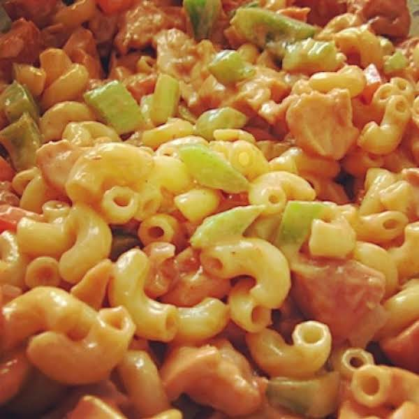 From Instagram: Chicken Macaroni Salad, Iris Http://instagram.com/p/rdn_0dpylm/